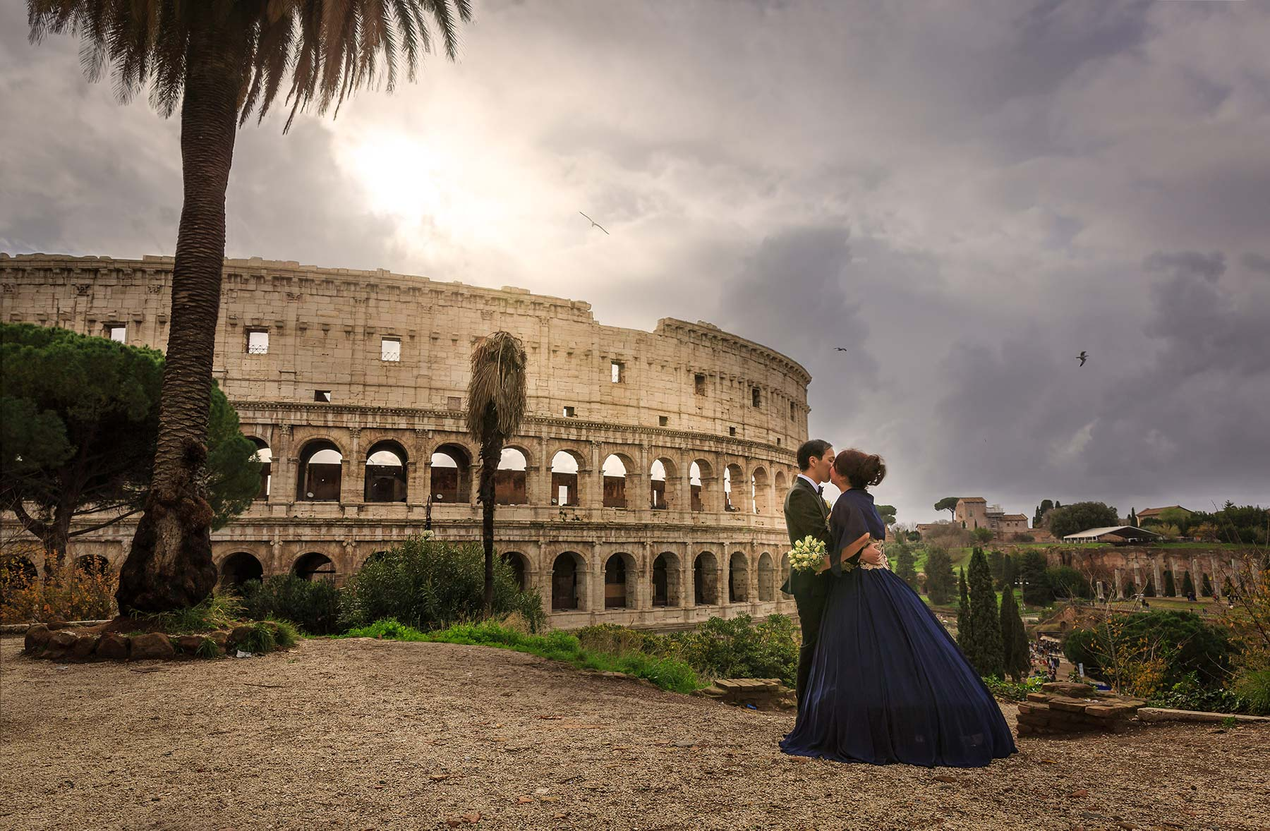 Are you planning a destination wedding in Rome? We'll be happy to record your memories! Studio inFocus Destination Weddings in Rome